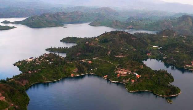 The Twin Lakes of Ruhondo and Burera in Rwanda